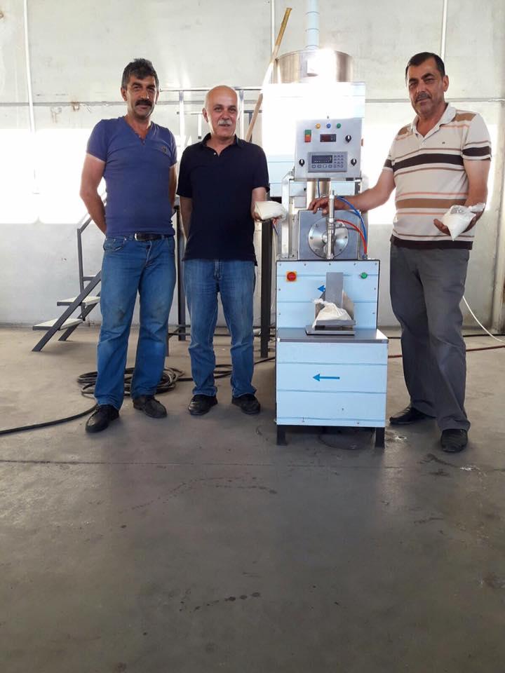 Erzincan İli Arı Yetiştiricileri Birliği – Petek Makinesi ve Pres Makinesi Kurulumu