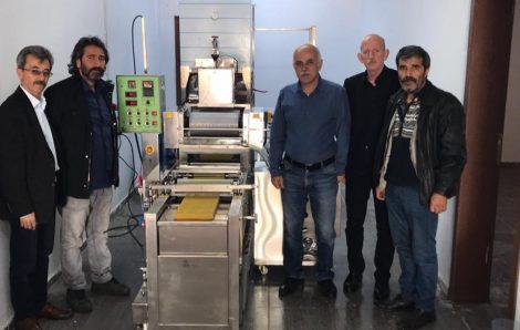 Ağrı İli Arı Yetiştiricileri Birliği-1 Sıralı Otomatik Balmumu Petek Makinesi Kurulumu