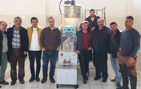 Bozkır Tarımsal Kalkınma Kooperatifi -Fondan Arı Yemi Makinesi Kurulumu