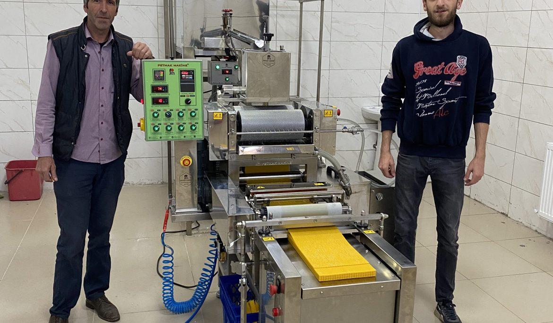 Posof Arıcılık-1 Sıralı Otomatik Balmumu Petek Makinesi Kurulumu