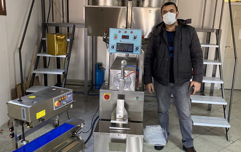 Tokat İli Arı Yetiştiricileri Birliği -Fondan Arı Yemi Makinesi Kurulumu
