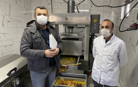 Installation of Wax Pressing Machine(PRESS_01)