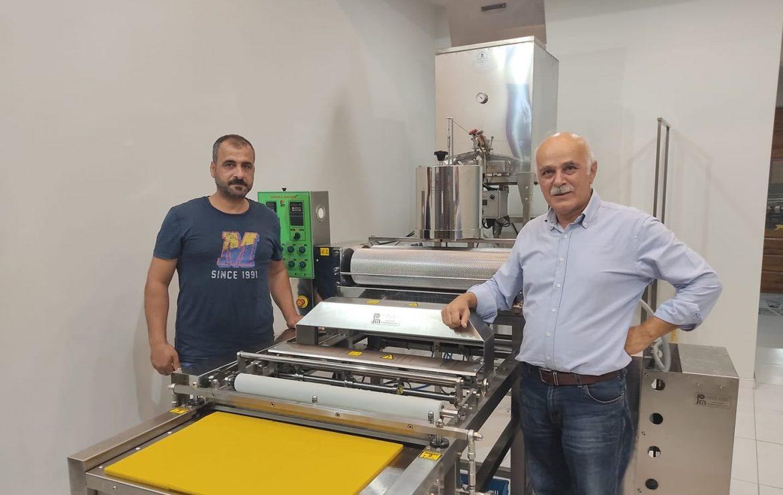Gürkan Atar-ATARLAR BAL – 3 Sıralı Otomatik Balmumu Petek Makinesi Kurulumu
